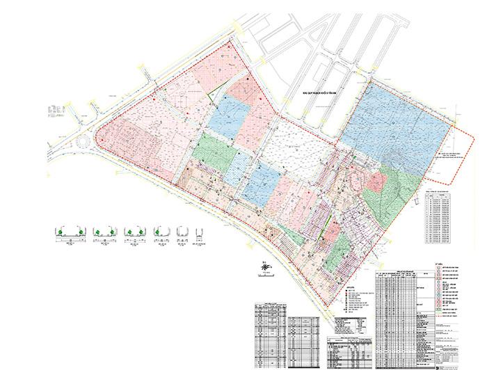 Bản đồ Quy hoạch sử dụng đất Khu dân cư tổ dân phố 4, phường Tân Lập, thành phố Buôn Ma Thuột.